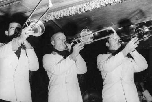 People playing trumpets