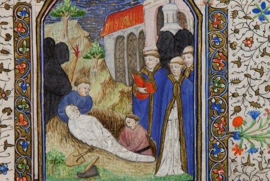 The medieval art of dying