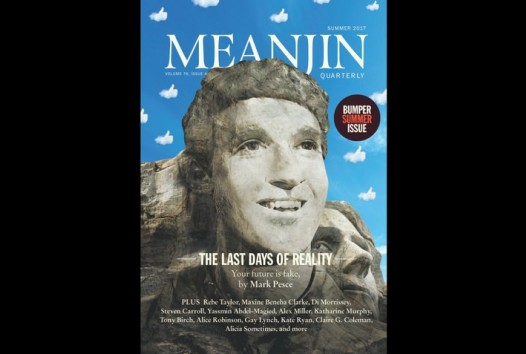 Cover image of Meanjin summer 2017 magazine
