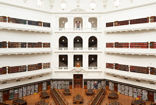 La Trobe Reading Room, State Library Victoria