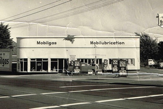 Photo of Triggs service station, Flemington