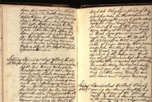 Ballarat Goldfields diary