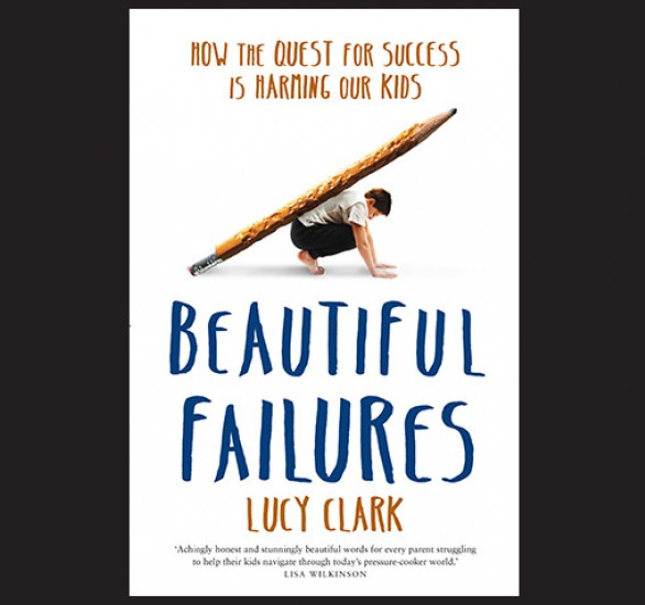 Cover of Beautiful failures by Lucy Clark